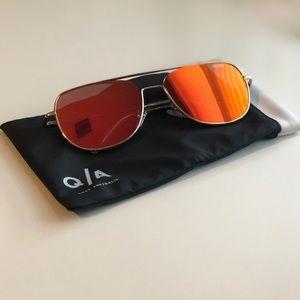 Quay Red Riot Sunglasses